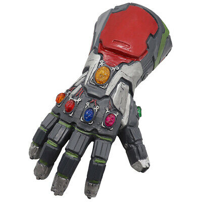 Halloween Avengers 4 Endgame Infinity Gauntlet Cosplay Iron Man Tony Stark Glove