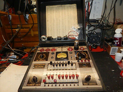Vintage GE Model TC-3 Tube Tester