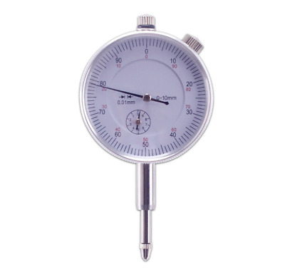 0-10mm Precision Dial Indicator Accuracy Gauging Tools Pointer Measure