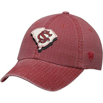 online store bb63c 2183c South Carolina Gamecocks Top of the World Stateline Adjustable Snapback Hat  -