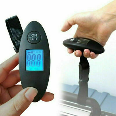 1X Luggage Weight Scales Digital Travel Suitcase Portable Electronic Weigher Bag
