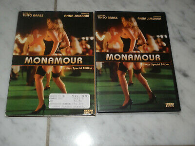 Monamour / Kick The Cock DVD 2005 2008 Cult Epics Tinto Brass with SLIPCOVER NEW