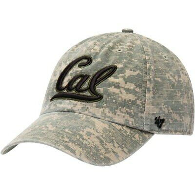 promo code 0cdb2 3a078 Cal Bears  47 Operation Hat Trick Nilan Clean Up Adjustable Hat - Camo