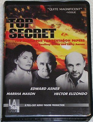 Top Secret - The Battle For The Pentagon Papers, LA Theatre Works, Cassette Tape