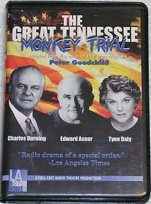 The Great Tennessee Monkey Trial by Peter Goodchild, LA Theatre Works, Cassettes