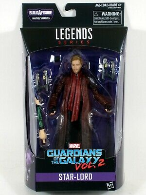 """Marvel Legends 6"""" STAR-LORD Figure Guardians of the Galaxy Mantis BAF"""