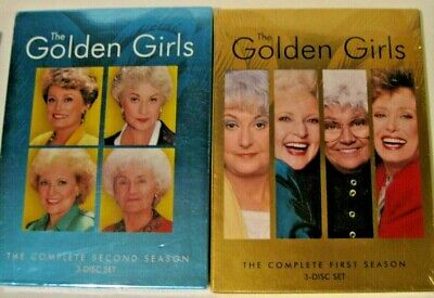 The Golden Girls Series--- Seasons 1 and 2--NEW SEALED