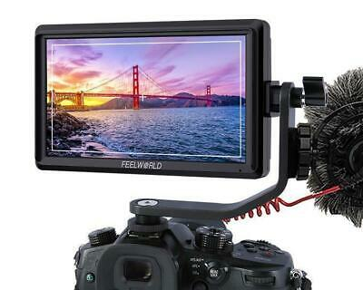 FEELWORLD FW568 5.5 Inch IPS 4K On Camera Field Monitor for DSLR HDMI Small HD