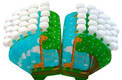 Reusable Food Pouch (50 Pack, 5 oz) Baby Friendly with Leak Proof Double...