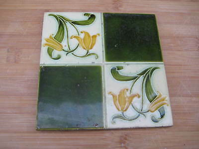 pilkington ENGLISH art nouveau TILE