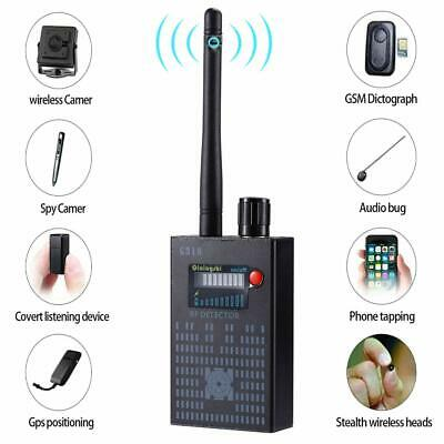 G318 ANTI SPY Signal Detector Bug Detector Wireless New Tracker