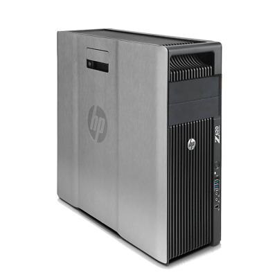 Hp Workstation Z620 Intel Xeon E5-2643 3. 3ghz 16GB RAM 1TB Disco Duro