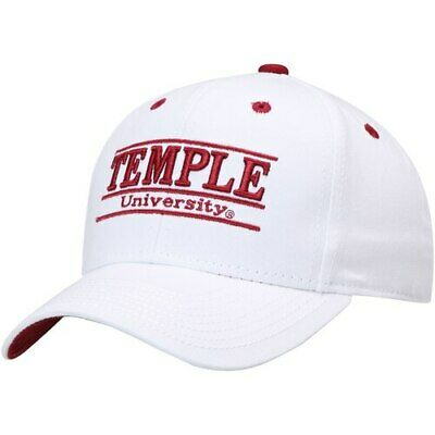 new styles 03a3c 7dbcd Temple Owls The Game Classic Bar Adjustable Snapback Hat - White