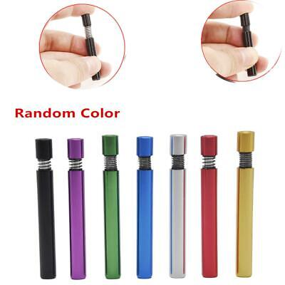 3pcs Self Cleaning Hitter Metal Bat Tobacco Smoking Cigarette Dugout Pipe Random