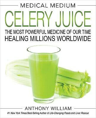 Medical Medium Celery Juice Hardcover by Anthony William Multiple Sclerosis NEW