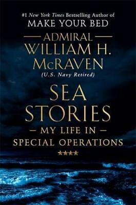 Sea Stories Hardcover by William H. McRaven Afghan War Biography BEST SELLER