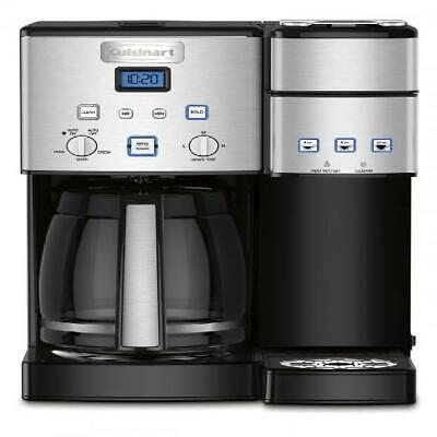 Cuisinart Coffee Makers Coffee Center 12 Cup Coffeemaker and Single-Serve Brewer