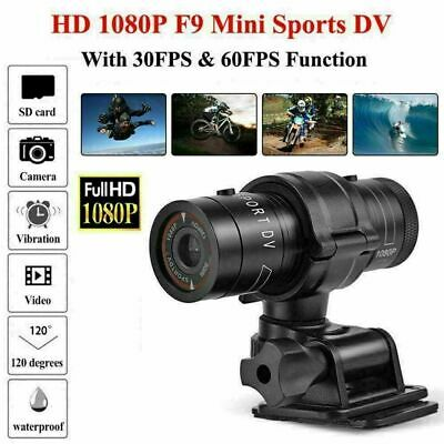 Mini F9 Waterproof 1080P HD DV DVR Sports Camera Bike Action Video Camcorder CO