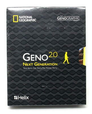 National Geographic DNA Test Kit: Geno 2.0 Next Generation (Ancestry)