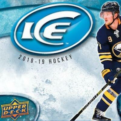 2018-19 Upper Deck Ice Base, Rookies or Green Cards Pick From List