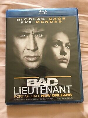 Bad Lieutenant: Port of Call New Orleans (Blu-ray Disc, 2010)