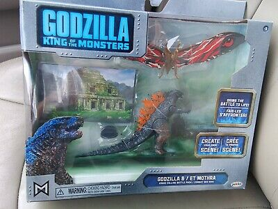 Bandai Godzilla &  Et Mothra king of the Monsters battle pack