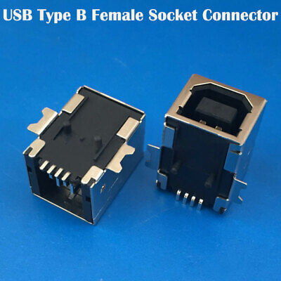 Mini USB-B SMD Female Horizontal Socket/Printed Circuit Board Connector