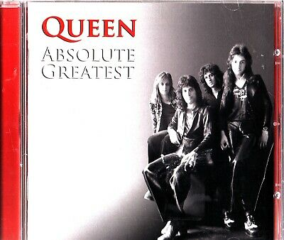 Queen - Absolute Greatest Hits CD The Best Of 2009 'We Will Rock You/Radio Ga Ga
