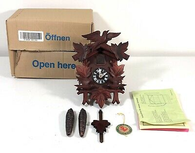 HUBERT HERR Black Forest CUCKOO CLOCK Made in Germany Never Used