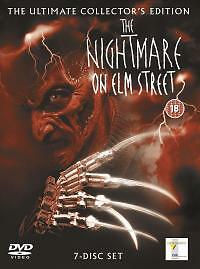 The Nightmare On Elm Street Collection box set freddy kruger horror thriller