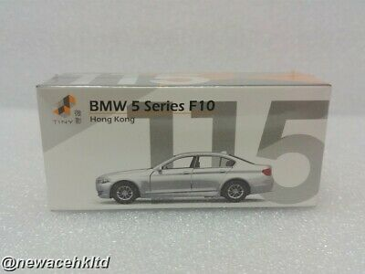 Bmw 5 Series F10 White Tiny 1/64 #Atc64395