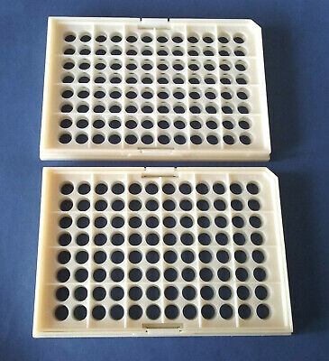 MicroAmp 96-well Tray/Retainer Set for GeneAmp PCR system, Cat#403081, Lot of 2