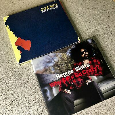Lot Of 2 Reggie Watts Why $# So Crazy? CD+DVD & -live At Central Park