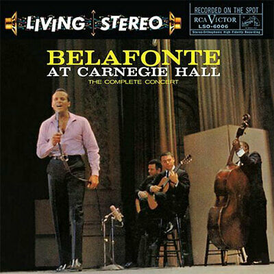 AP | Harry Belafonte - Live At Carnegie Hall: The Complete Concert SACD + CD