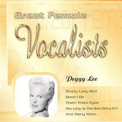 Peggy Lee – Great Female Vocalists