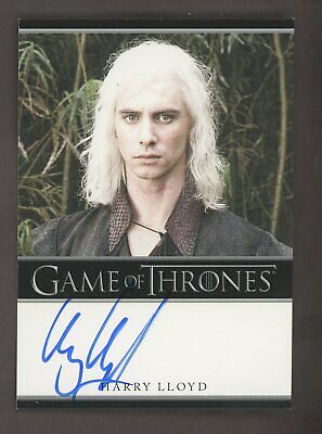 2012 Rittenhouse HBO Game of Thrones GOT Harry Lloyd as Viserys Targaryen AUTO