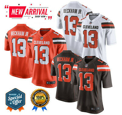 Wholesale ODELL BECKHAM JR. Cleveland Browns #13 Fanatics NFL T Shirt Brown