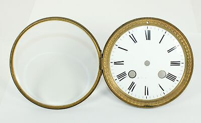 CLOCK DIAL with GLASS, BEZEL, and BRACKETS - BEAUTIFUL! SP904