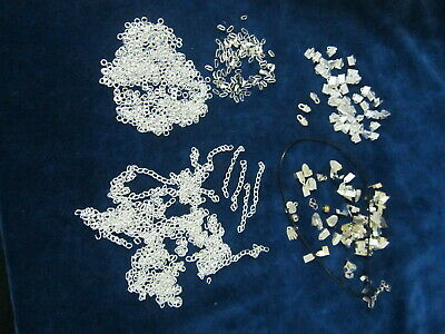 Silver tone Findings Mixed lot