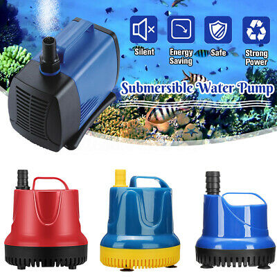 SUBMERSIBLE WATER PUMP Fish Pond Aquarium Tank Waterfall