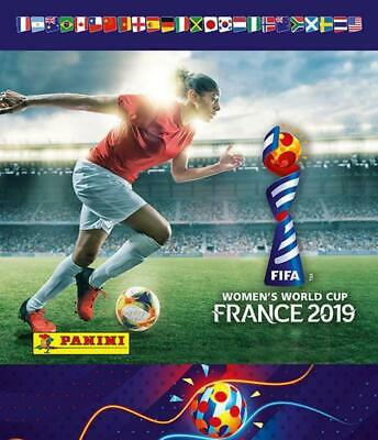 2019 Panini FIFA Women's World Cup Stickers Pick From List With Foils 1-240