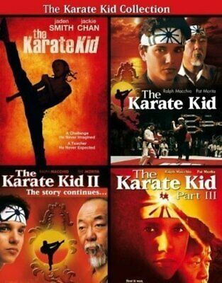 The Karate Kid Collection Ralph Macchio PG DVD Kids & Family Martial Arts Movies