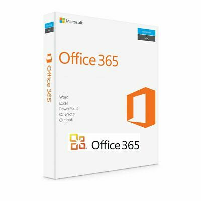 INSTANT Microsoft Office 365 Pro 2016 2019  Lifetime 5Users PC /Mac 5TB