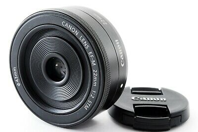 Canon EF-M 22mm f/2 STM Lens for EOS M M2 M3 M6 M10  From Japan