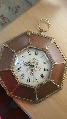 french   Wall Clock make VEDETTE