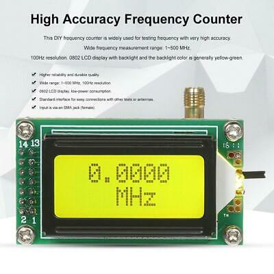 1 MHz -500MHz LCD Display Frequency Counter Module Hertz Tester Measurement NEW