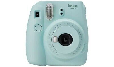 INSTAX mini 9 Instant Camera - Ice Blue with box of 20 films
