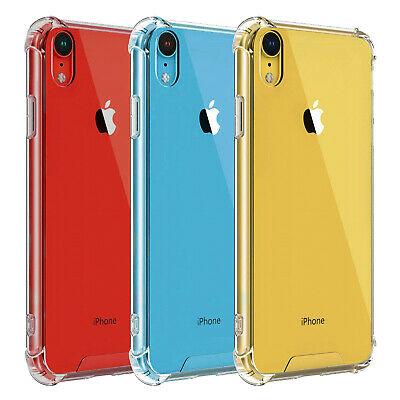 For iPhone X XS XR XS Max Mosafe [Unisky] Clear Shockproof Protective Cover Case