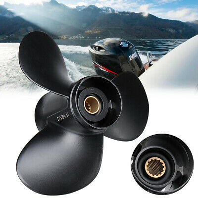 Aluminum Marine Outboard Propeller 11 1/2 x 13 For Suzuki 35-65HP 58100-94313-01