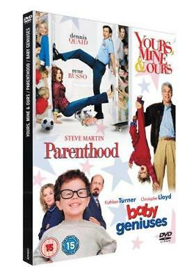 Yours, Mine And Ours/Parenthood/Baby Geniuses (DVD, 2008, 3-Disc Set, Box Set)